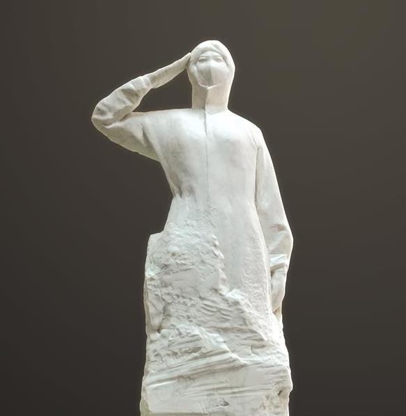 新万博客户端下载石雕作品《使命》 manbetx万博全站app下载