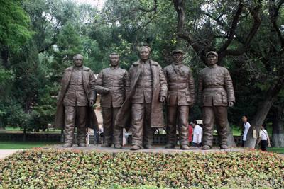 安徽雕塑 人物雕塑 铸铜雕