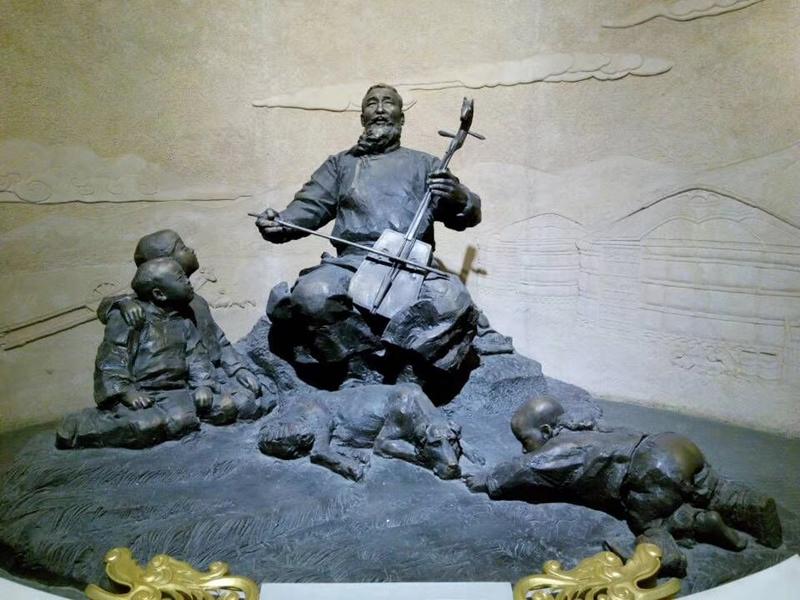 安徽雕塑 玻璃钢雕塑 人物